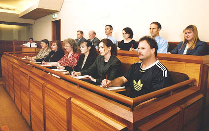 an introduction to the right of juries An introduction to the jury system part ii how do jurors learn what law they should apply in a case jury instructions and charging the jury juries not only decide which party is right.