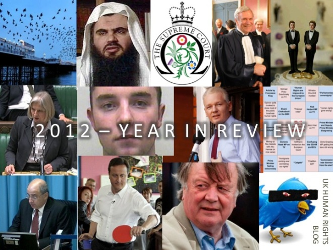 UKHRB 2012 year in review
