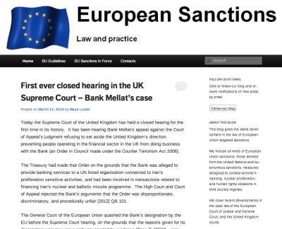 Euro Sanctions