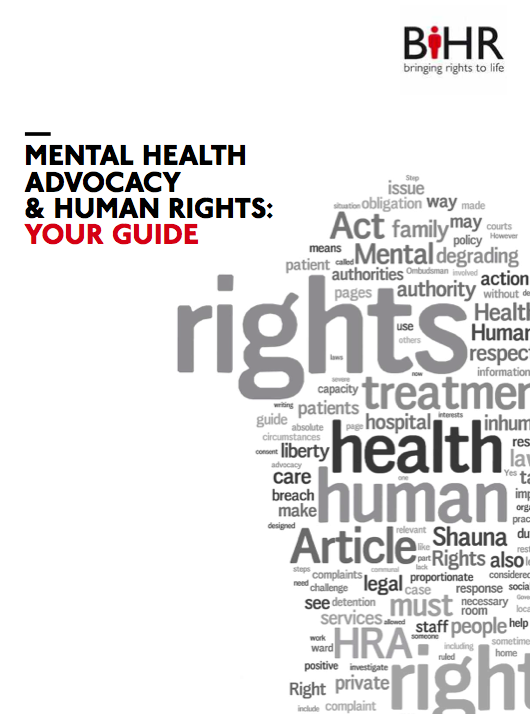 New Guide to Mental Health Advocacy and Human Rights – UK ...