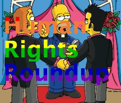 Human rights roundup - gay flag