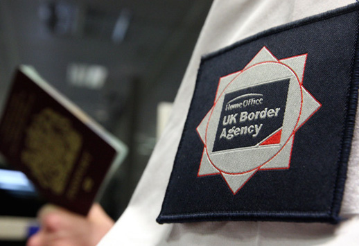 UK Border Agency officer